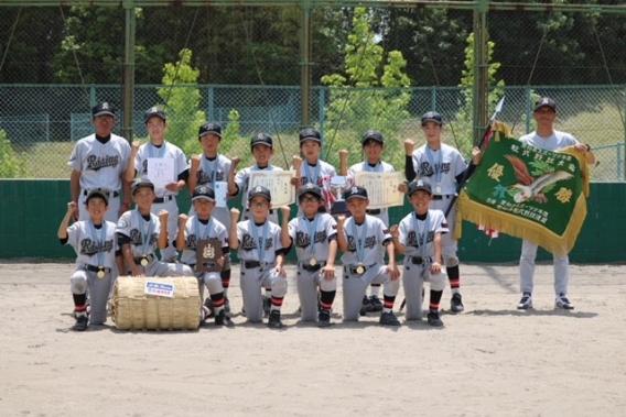 第40回全国スポーツ少年団軟式野球交流大会 県大会 優勝‼
